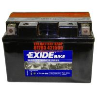 exide et12a bs motorcycle battery 12v 9 5ah 130a yt12a bs. Black Bedroom Furniture Sets. Home Design Ideas